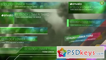 Ecological Lower Thirds 14996694 After Effects Template