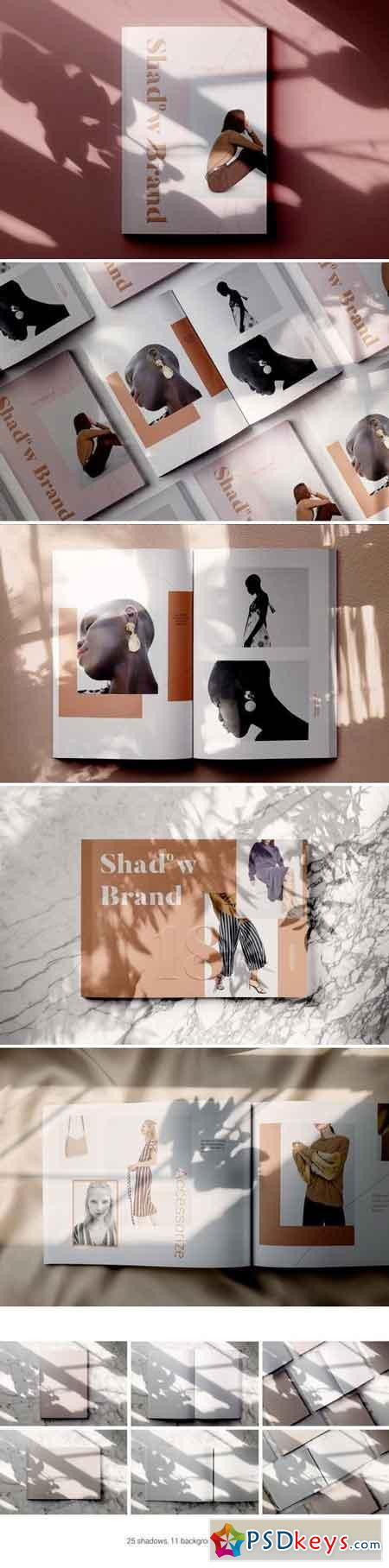 Shadow Brand - Magazine Mockups 2994547