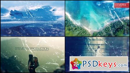 Glitch Action Trailer 20709820 After Effects Template