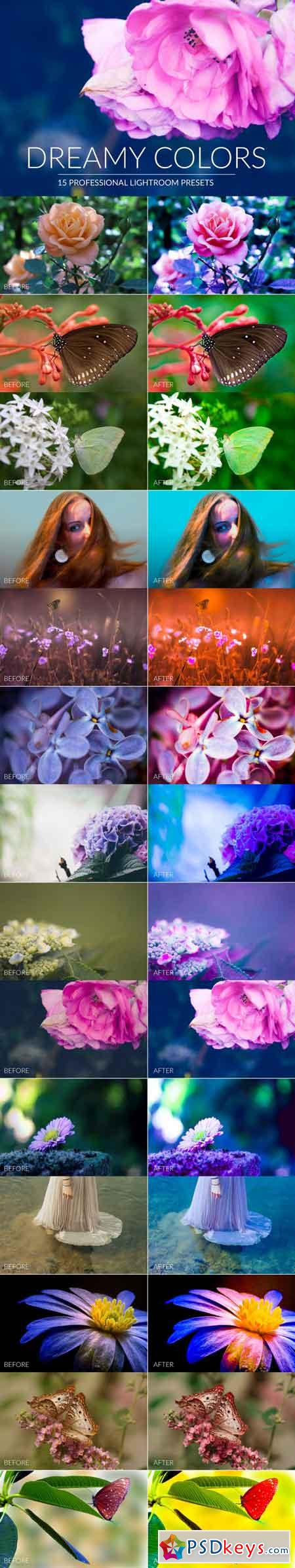 Dreamy Colors Lr Presets