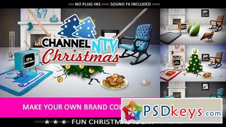 Merry Crazy Christmas Funny Opener 6183181 After Effects Template