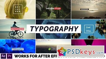 Typography 22401668 After Effects Template