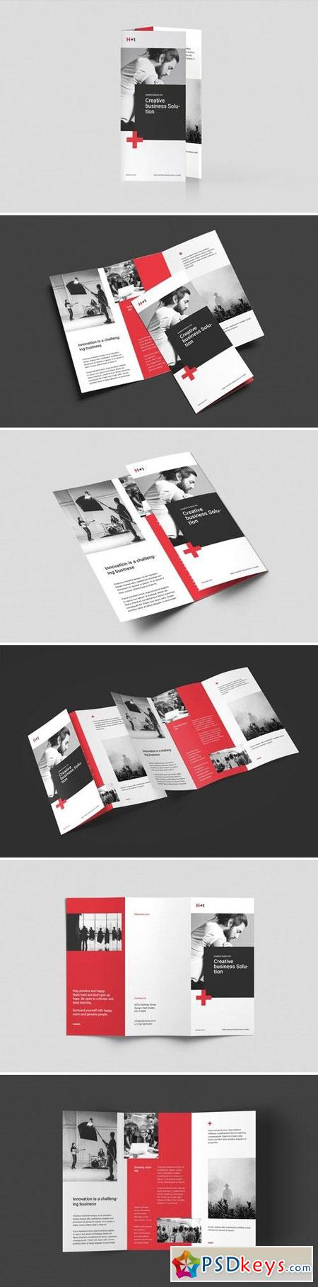 Corporate Trifold Brochure 3002849