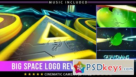 Space Show Logo Title 22465410 After Effects Template
