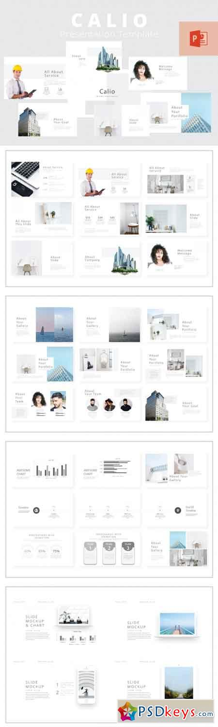 Calio Powerpoint Template