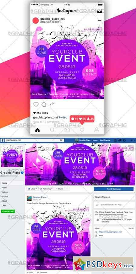 CLUB EVENT – SOCIAL MEDIA VIDEO TEMPLATE