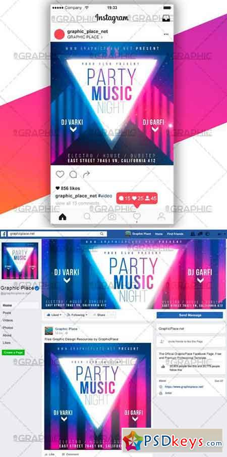 PARTY NIGHT – SOCIAL MEDIA VIDEO TEMPLATE