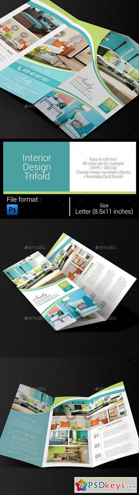 Interior Design Trifold 10688353