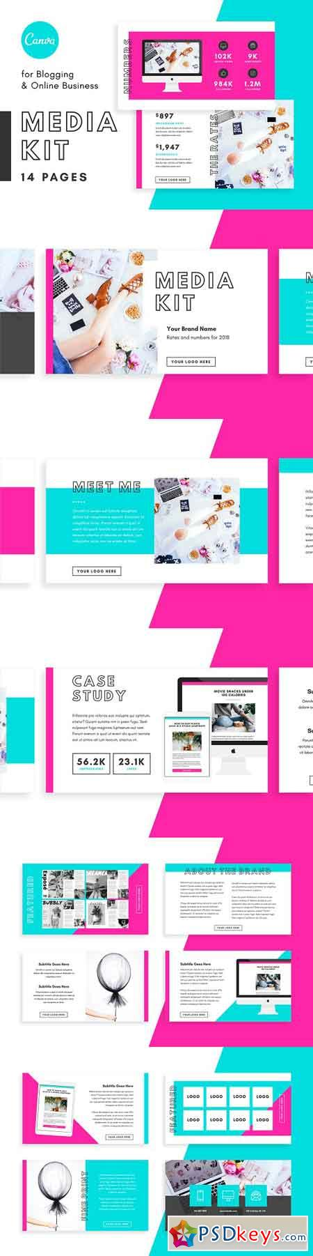 Media Kit Proposal Bloggers Canva 2741670