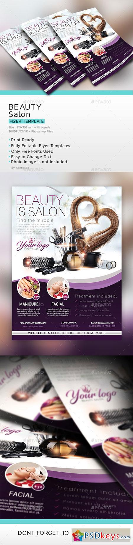 Beauty Salon Flyer 22609300