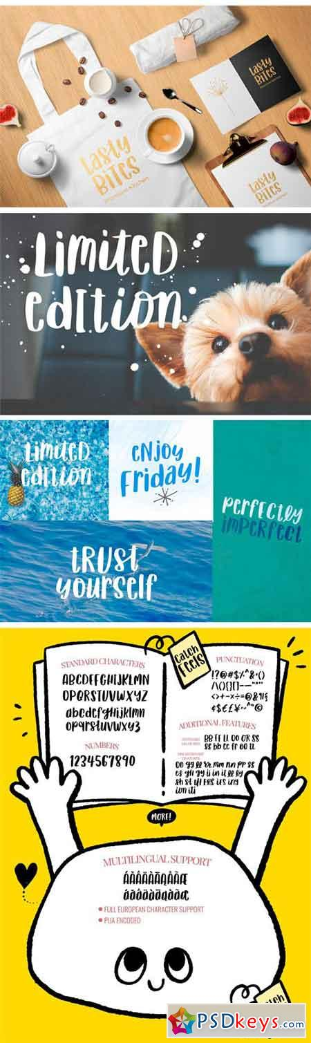 Catch Feels - Lovely and Quirky Font 2623450