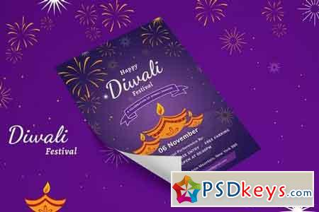 Diwali Celebration Flyer - 01