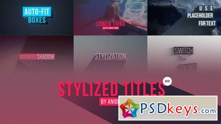 Stylized Titles 22604368 After Effects Template