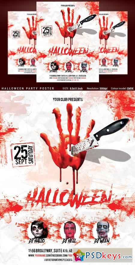 Halloween Party Poster 2917703