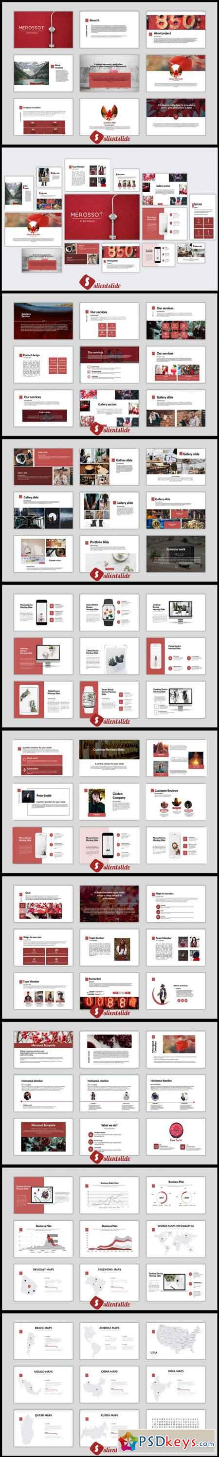 Merossot Powerpoint Template