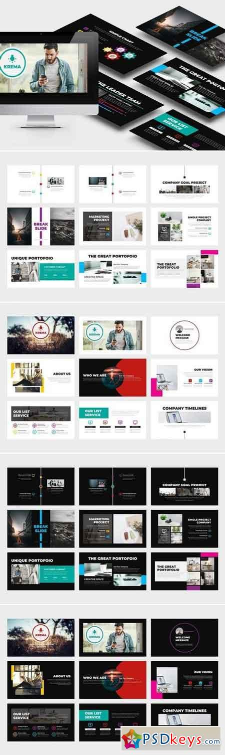 Krema Creative Powerpoint Template