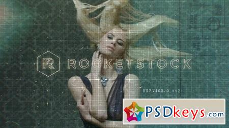 RocketStock - RS2082 Focus Glitchy Logo Reveal After Effects Template