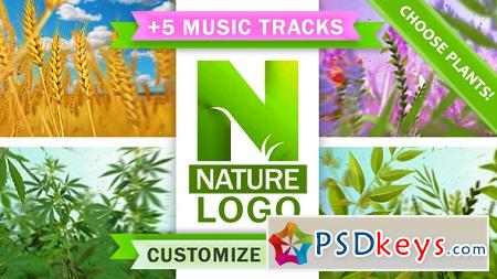 Nature Eco Plants Logo 22046864 After Effects Template