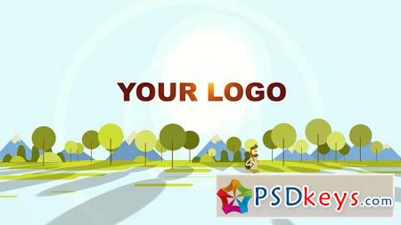 Pond5 Hiking Logo Reveal 074355657 After Effects Template