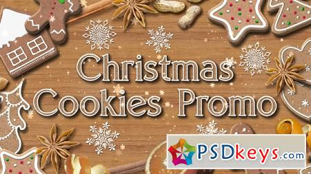 Christmas Cookies Promo 13874275 After Effects Template