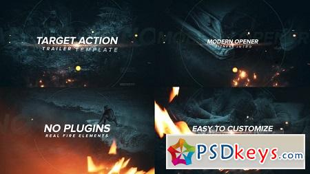 Target Action Trailer 22075065 After Effects Template