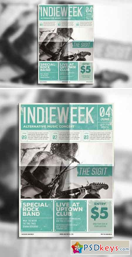 Indie Newspaper Poster 505810