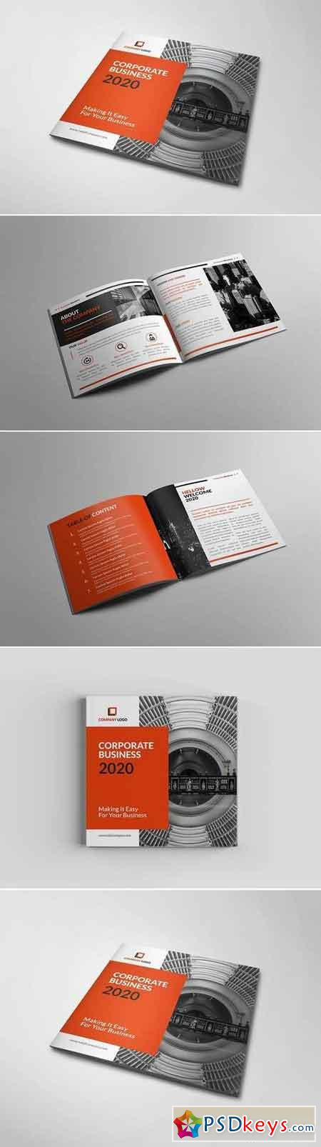 Pakumantan - A Square Corporate Brochure Template