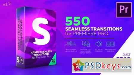 Handy Seamless Transitions for Premiere Pro V1.6 22125468