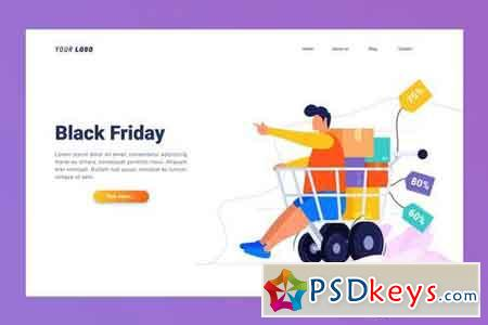 Black Friday - Landing Page