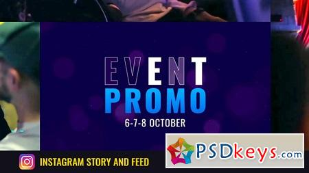 Event Promo 19992819 (With 19 September 18 Update) After Effects Template