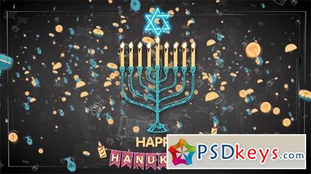 Pond5 Happy Hanukkah 083555299 After Effects Template