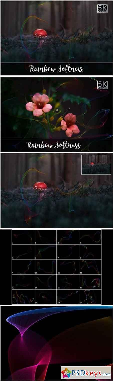 5K Rainbow Softness Overlays 2140853