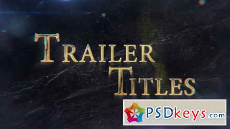 Trailer Titles 21448331 After Effects Template