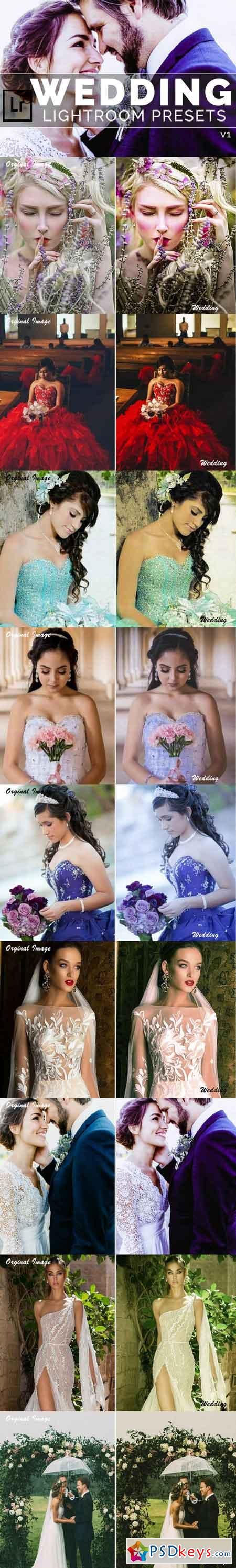 Wedding Lightroom Presets v1