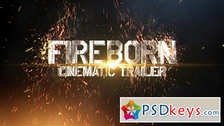 Fireborn Cinematic Trailer 19894144 After Effects Template