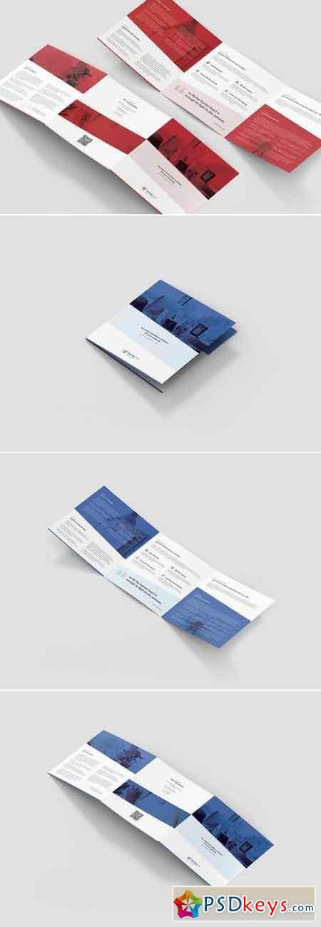 Brochure – StartUp Tri-Fold Square
