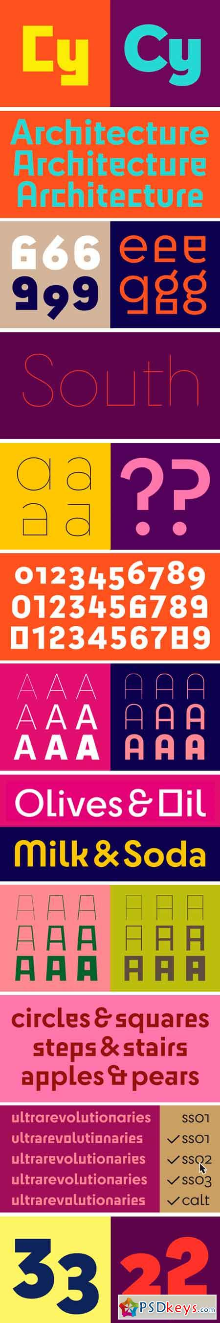 Cy Font Family