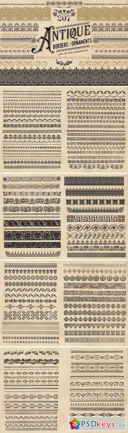 Antique Borders and Ornaments 1580151