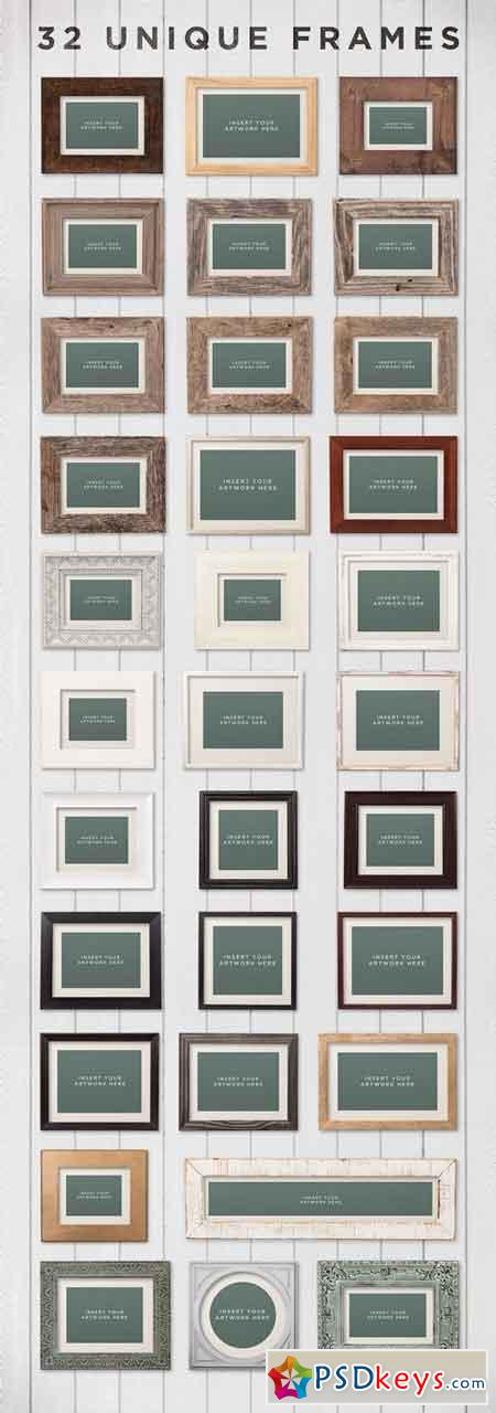Picture Frame Mockups Volume 2 1171865