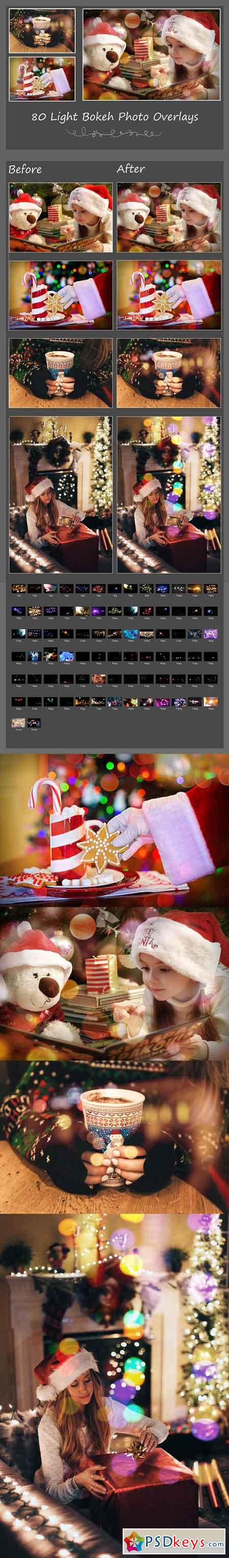80 Light Bokeh Photo Overlays 2735346