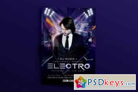 Electro Dupstep Flyer party