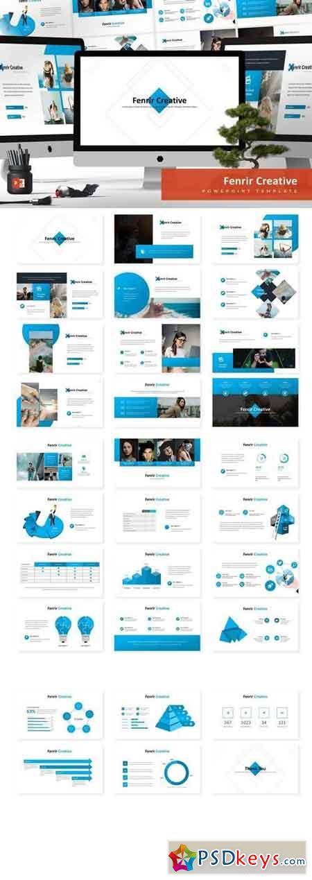 Fenrir - Powerpoint, Keynote, Google Sliders Templates