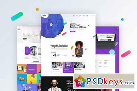 Multipurpose Business, Portfolio, Agencies Website 2