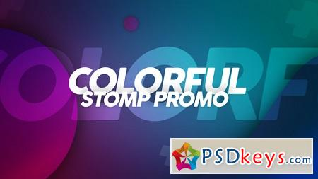 Colorful Stomp Promo 22427972 After Effects Template