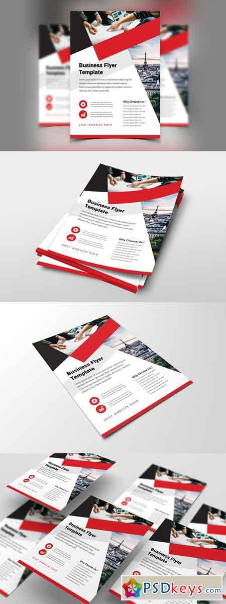 Business Flyer Template 2834500