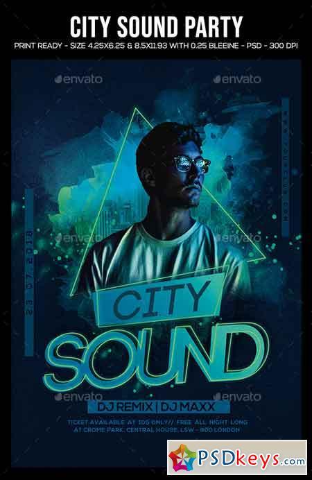 City Sound Party Flyer 22653742