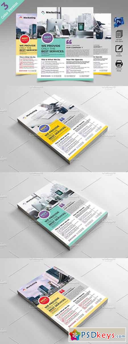 Corporate Flyer Template 2833166