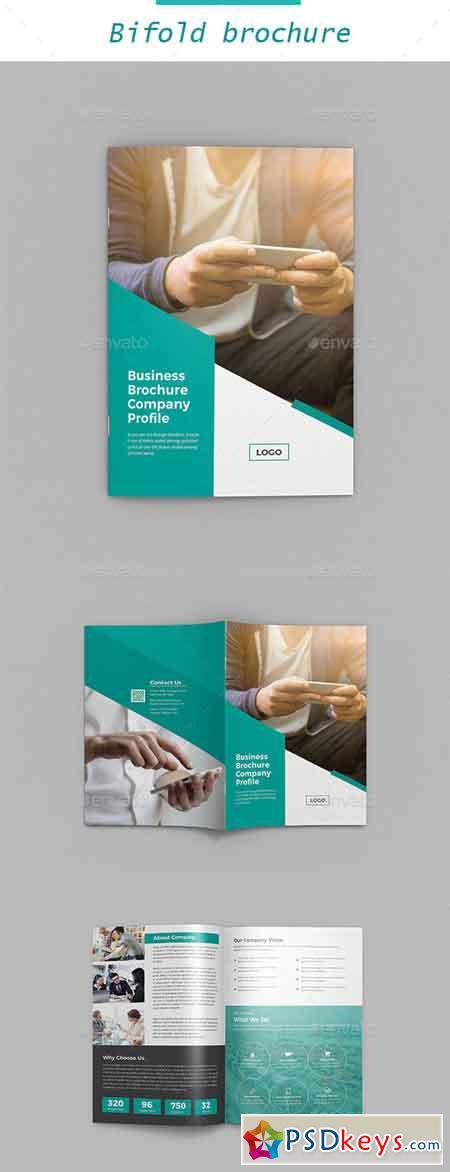 Corporate Bifold Brochure 22655489