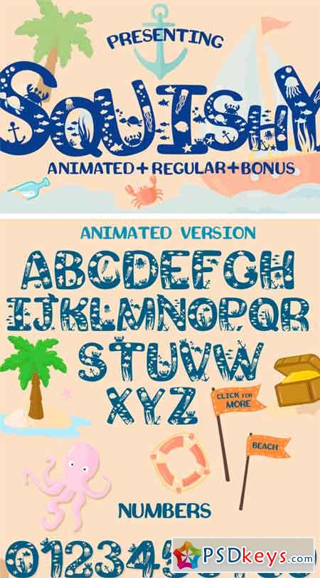 Squishy Craft Font 87651
