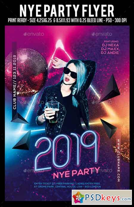 Nye Party Flyer 22658721
